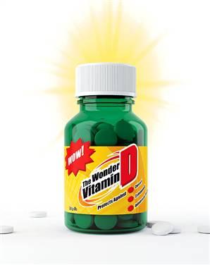Vitamin D, a powerful, natural antibiotic